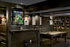 21 Masculine Man Cave Ideas (17)