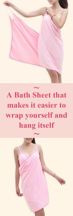 Soft Female Wearable Shoulder Straps Bath Towel Shower Drying Bath Skirt Spa Bathrobes is personalized, see other cheap bath towel on NewChic. Sewing Hacks, Sewing Crafts, Sewing Projects, Towel Wrap, Washing Clothes, Bath Towels, Baby Quilts, Girly Things, Sewing Patterns