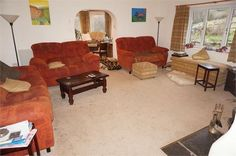 5 bedroom detached house for sale in Trewidland, Liskeard, Cornwall - Rightmove. Graham Cooke, Detached House, Property For Sale, Lounge, Couch, Chair, Bedroom, Furniture, Home Decor