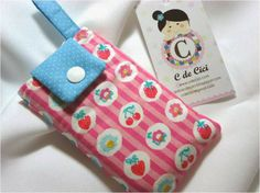 C de Cici: Clubinho da Costura: Projeto #22 - Capa para celular
