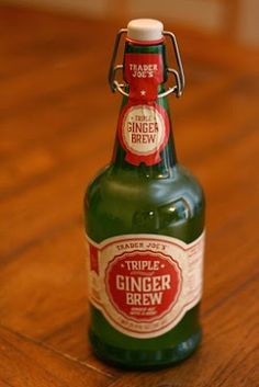 What's Good at Trader Joe's?: Trader Joe's Triple Ginger Brew Honey Mead, Beer Commercials, Sweet Red Wines, Fun Drinks, Beverages, Party Drinks, Whats Good, Ginger Beer, Trader Joes