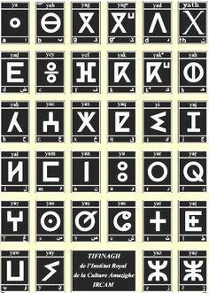 L'alphabet amazigh