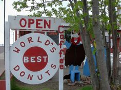 Quite literally the world's best donuts! Grand Marais, MN
