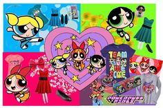 """Powerpuff girls"" by nowheregirl17 ❤ liked on Polyvore"