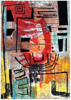 'Cilento', Collage / mixed media by Simon Kirk   Artfinder
