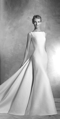 Wedding Dress Pronovias 2016 Atelier elegant bridal gown, wedding ideas, bride, wedding inspiration, haute couture, timeless dress