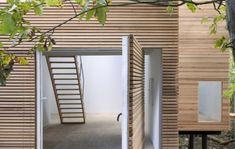 Tür Verkleidung Haus Eingang gestalten Ideen