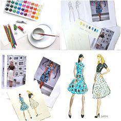 fashion illustration tutorial.....