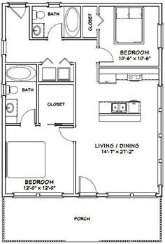 Faux Brick Panels, Brick Paneling, Small House Floor Plans, Cabin Floor Plans, 2 Bedroom Floor Plans, Garage Plans, Shed Plans, Barndominium Floor Plans, Shed Kits