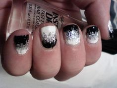 Easy but cool nails (: