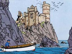 L'Ile Noire - Hergé: Tintin