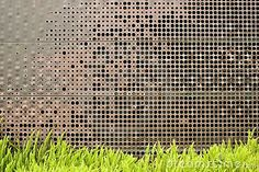 perforated metal screen garden - Google Search
