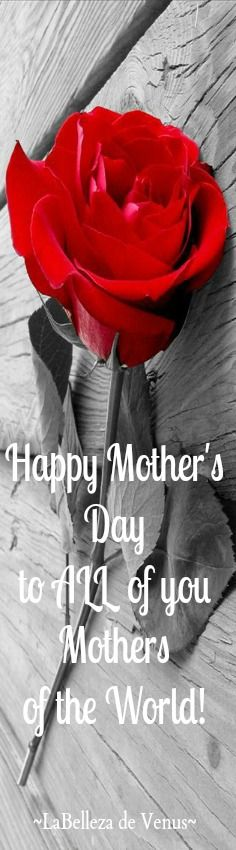 Happy Mother's Day to All of the Mothers of the World specially the ones on No Pin Limits..♥♥