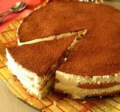 Greek Sweets, Greek Desserts, Cold Desserts, Party Desserts, Greek Recipes, Delicious Desserts, Sweets Recipes, Cooking Recipes, Low Calorie Cake