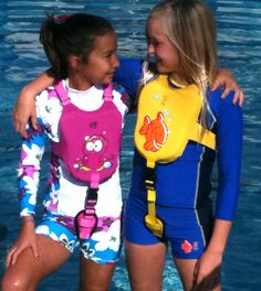 BIG fish and me SumoSwim vest in front graphics different than back graphics keeps kids smiling coming and going $45.00