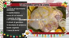La prova del cuoco | Ricetta tacchinella sotto le stelle di Anna Moroni