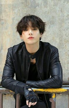 Okay but, this Jungkook with a leather jacket? Foto Jungkook, Foto Bts, Bts Jimin, Jungkook Mignon, Jungkook Lindo, Jungkook Fanart, Jungkook Cute, Bts Bangtan Boy, Bts Taehyung