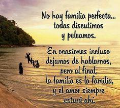 Familia siempre estará ahí para mi