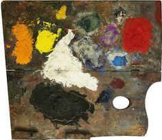 Joan Miró Miró utilizaba una paleta muy reducida pero con una gran maestría. El amarillo, rojo, azul, verde, naranja, negro y blanco son los colores que predominan en sus obras.