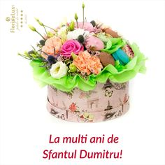 Felicitare Sfantul Dumitru, ureaza la multi ani de Sfantul Dumitru cu felicitari cu flori  https://www.floridelux.ro/flori-pentru-ocazii/flori-cadouri-sarbatori/flori-de-sf-dumitru-26-octombrie/
