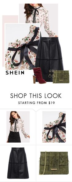 """""""Floral Me"""" by kts-desilva ❤ liked on Polyvore featuring French Connection, Tuscany Leather and Chloé"""