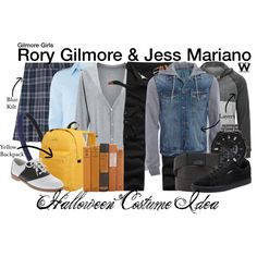 Inspired by Alexis Bledel & Milo Ventimiglia as Rory Gilmore & Jess Mariano on Gilmore Girls.