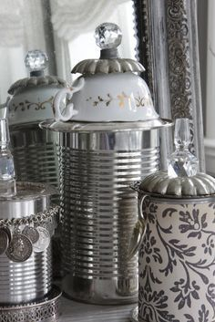 10 Pretty Ways to Use an Ordinary Tin Can