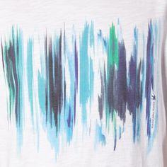 RJR.John Rocha Designer white watercolour t-shirt- at Debenhams.com