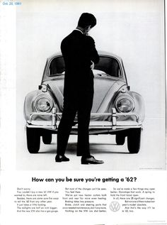 Volkswagen ad - How Can You Be Sure?