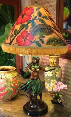 Vintage hawaiian lamps things i want pinterest vintage hula lamps of hawaii mozeypictures Images
