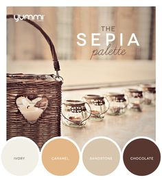 10% OFF The Sepia Palette! Use Promo Code SP10 At Checkout. Shop Now at www.YummiCandles.com