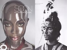 Soon magazine 2011Face Accessory by on aura tout vu for men