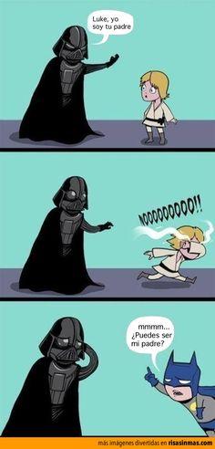 Luke, yo soy tu padre.
