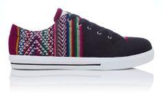 Inkkas Shoes - Handmade in South America - Shadow Low Top