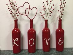 Valentines Day Wine Bottles   DIY Valentines Crafts for Kids to Make   Easy Valentines Day Activities for Classroom