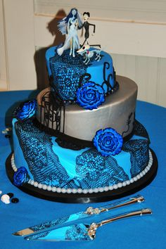 Our Corpse Bride cake