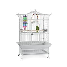 Prevue Pet Products 3173 Large Royalty Bird Stylish Pagoda Roof Cage - Overstock Shopping - The Best Prices on Prevue Pet Products Bird Cages & Houses