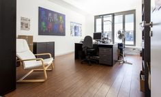 Moderne Büroräume mit Loftcharakter #Büro, #Bürogemeinschaft, #Office, #Coworking, #München, #Munich