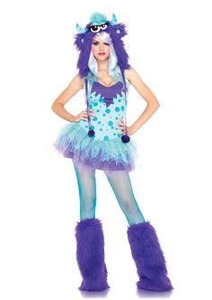 Just ordered this halloween costume :) I've been wanting a cute monster costume for YEARS!