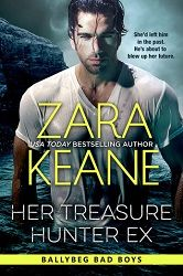 """""""will hold you captive from cover to cover"""" 5 stars for her Treasure Hunter Ex by Zara Keane  http://purejonel.blogspot.ca/2015/09/HTHE.html"""