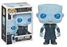 "Game of Thrones Night King Assis sur Trône de fer 3.75/"" POP Vinyl Figure FUNKO"
