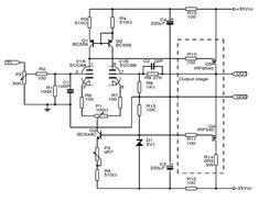 An audio power amp design that combines vacuum tube input