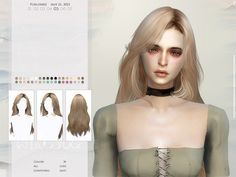 Sims 4 Teen, Sims Four, Sims Cc, All Hairstyles, Female Hairstyles, Sims Challenge, Sims Memes, Around The Sims 4, The Sims 4 Skin
