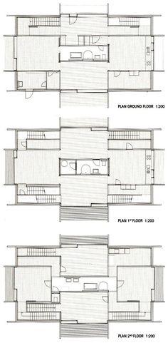 Znalezione obrazy dla zapytania peter zumthor timber house plans