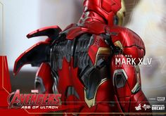 The Avengers 2 Iron Man Mark 45 Hot Toys Figure Revealed - Cosmic Book News