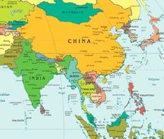 South West Asia Map | Southwest-Asia-map | Freedom And Democracy ...