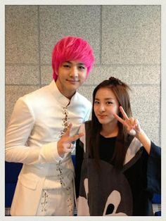 Dara and Thunder share photo 'the warmest siblings' ever! ~ Latest K-pop News - K-pop News | Daily K Pop News