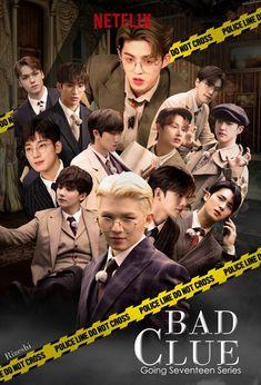"Lurah caratland on Twitter: ""Bad clue poster @pledis_17 #SEVENTEEN AAAA PASTI BOSEN SAMA EDITANNYA KAN 😭… "" Seventeen Magazine, Seventeen Going Seventeen, Carat Seventeen, Seventeen Album, Seventeen Memes, Mingyu Seventeen, Jeonghan, Woozi, Wonwoo"