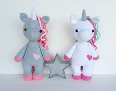 unicorn crochet pattern, crochet pattern, unicorn doll, unicorn toy, crochet unicorn