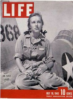 """Shirley Slade, WASP trainee.  The WASP was a unique corps of women pilots, each already possessing a pilot's license and dedicated to helping her country. They were trained to fly """"the Army way"""" by the U.S. Army Air Forces at Avenger Field in Sweetwater, Texas. After completing months of military flight training, 1,078 of them earned their wings and became 'the first women in history to fly American military aircraft."""